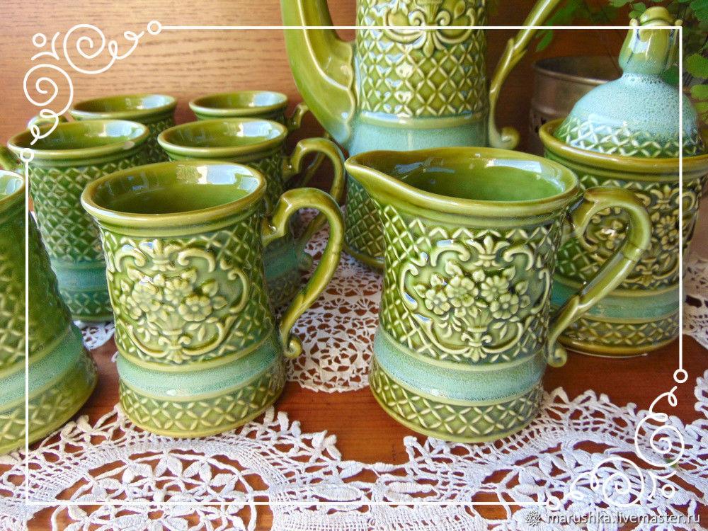 Винтаж: Набор для кофе, чая, керамика, Европа – купить на Ярмарке Мастеров – E6XHXRU   Сервизы винтажные, Грац