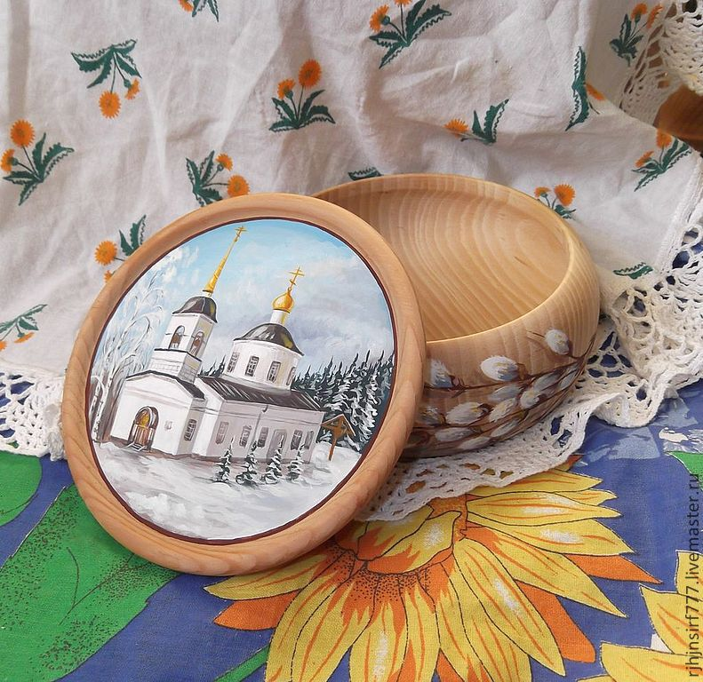 Box of cedar the Temple painting, Box, Zmeinogorsk,  Фото №1