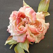 Цветы и флористика handmade. Livemaster - original item Flowers made of fabric. Silk flowers. Rosa Elena. Handmade.