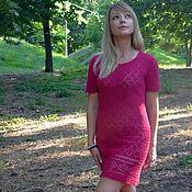 """Одежда ручной работы. Ярмарка Мастеров - ручная работа Платье женское """"Мадлен"""" 100 % лён. Handmade."""
