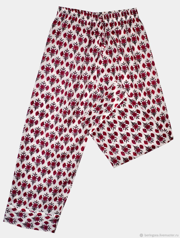 Пижама для девочки «Розовые букеты»