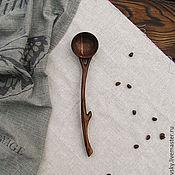 Посуда ручной работы. Ярмарка Мастеров - ручная работа Ложка салатная. Handmade.