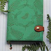 Канцелярские товары handmade. Livemaster - original item Notepad the flavors of the forest. Handmade.