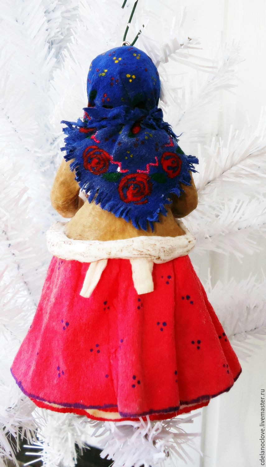 Buy quilted christmas tree decoration girl with cake on my easter gifts handmade quilted christmas tree decoration girl with cake svoimirukamishop negle Gallery