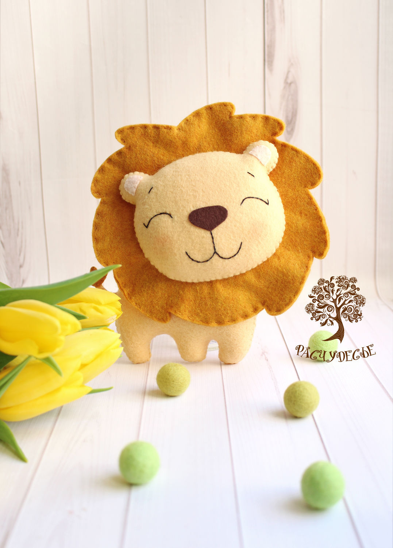 Игрушка лев своими руками фото 158