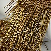 Канитель ручной работы. Ярмарка Мастеров - ручная работа Канитель: Канитель Античное Золото. Handmade.