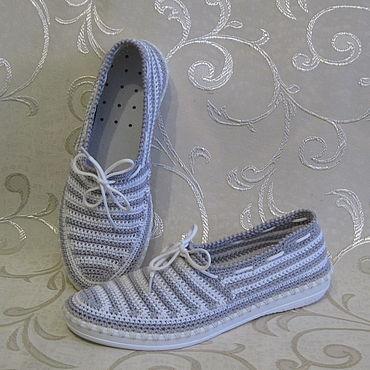 Обувь ручной работы. Ярмарка Мастеров - ручная работа Слиперы женские. Handmade.