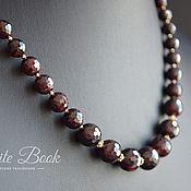 Украшения handmade. Livemaster - original item Necklace and earrings, gem, gold plated