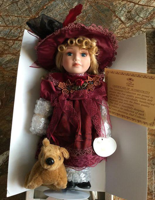 Винтажные куклы и игрушки. Ярмарка Мастеров - ручная работа. Купить Jessica, Леонардо коллекция, Винтажная фарфоровая кукла.. Handmade. Комбинированный