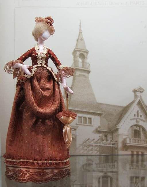 Коллекционные куклы ручной работы. Ярмарка Мастеров - ручная работа. Купить Дама на прогулке. Handmade. Тряпиенс, коллекционная кукла, кружево