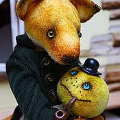Куклы и игрушки ручной работы. Ярмарка Мастеров - ручная работа Мистер Лис С и сэр Булка. Handmade.