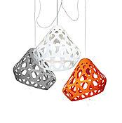Для дома и интерьера handmade. Livemaster - original item ZAHA trehrozhkovye tricolor LIGHT chandelier 14. Handmade.