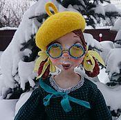 Куклы и игрушки ручной работы. Ярмарка Мастеров - ручная работа Кукла из папье маше Ромашка.... Handmade.