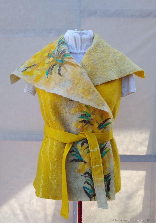 vest: ' Mimosa', Vests, Yeisk,  Фото №1