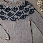 Sweaters handmade. Livemaster - original item Sweater women`s knitted Milk river, jelly shore. Handmade.