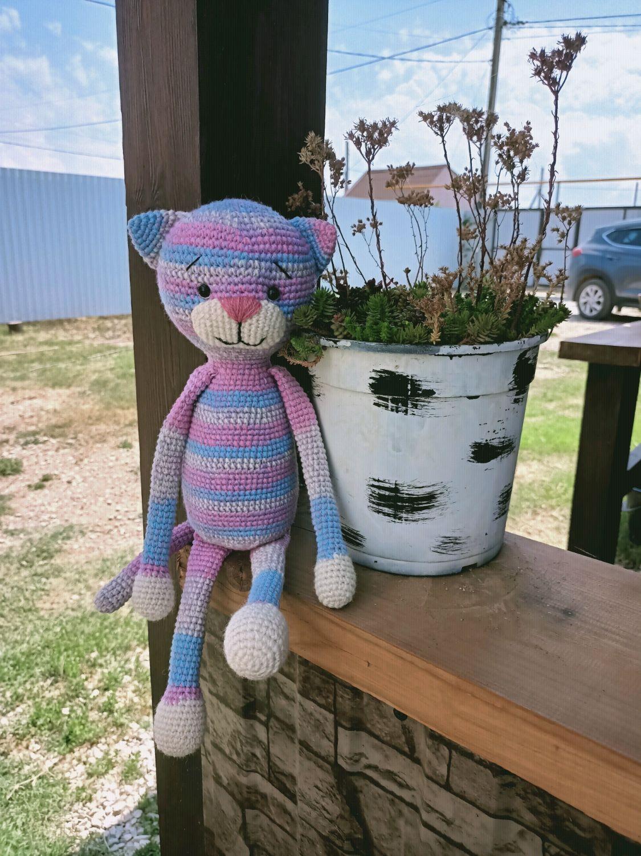 Цветной кот Васька, Мягкие игрушки, Севастополь,  Фото №1