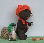"""Куклы и игрушки ручной работы. Ярмарка Мастеров - ручная работа Мишутка """"Рыжий нос"""". Handmade."""