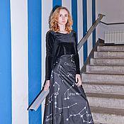 Одежда handmade. Livemaster - original item Star map skirt. Handmade.
