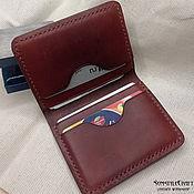 handmade. Livemaster - original item Cardholder wallet. Handmade.