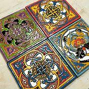 Для дома и интерьера handmade. Livemaster - original item Tiles Arabesque. Handmade.