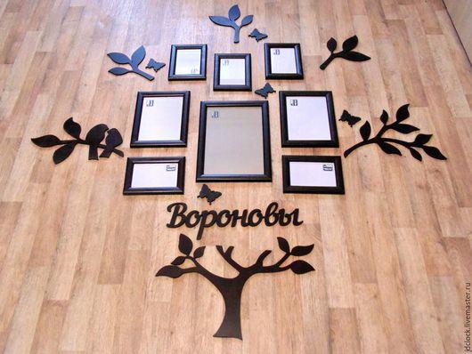 Интерьерные слова ручной работы. Ярмарка Мастеров - ручная работа. Купить Интерьерные деревья от мастерской JDdeco. Handmade. Разноцветный, дерево