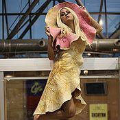 """Одежда ручной работы. Ярмарка Мастеров - ручная работа Платье """"Дух Пустыни"""" (Spirito del Deserto) резерв. Handmade."""