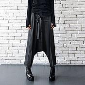 Одежда ручной работы. Ярмарка Мастеров - ручная работа Широкие брюки с ремешками. Handmade.
