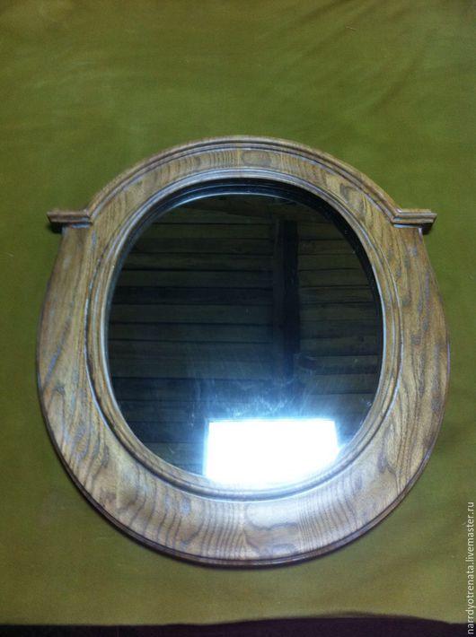 Зеркала ручной работы. Ярмарка Мастеров - ручная работа. Купить Зеркало в резной оправе из ясеня. Handmade. Комбинированный