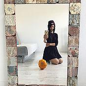 """Для дома и интерьера ручной работы. Ярмарка Мастеров - ручная работа Зеркало ручной работы """"винтаж"""". Handmade."""