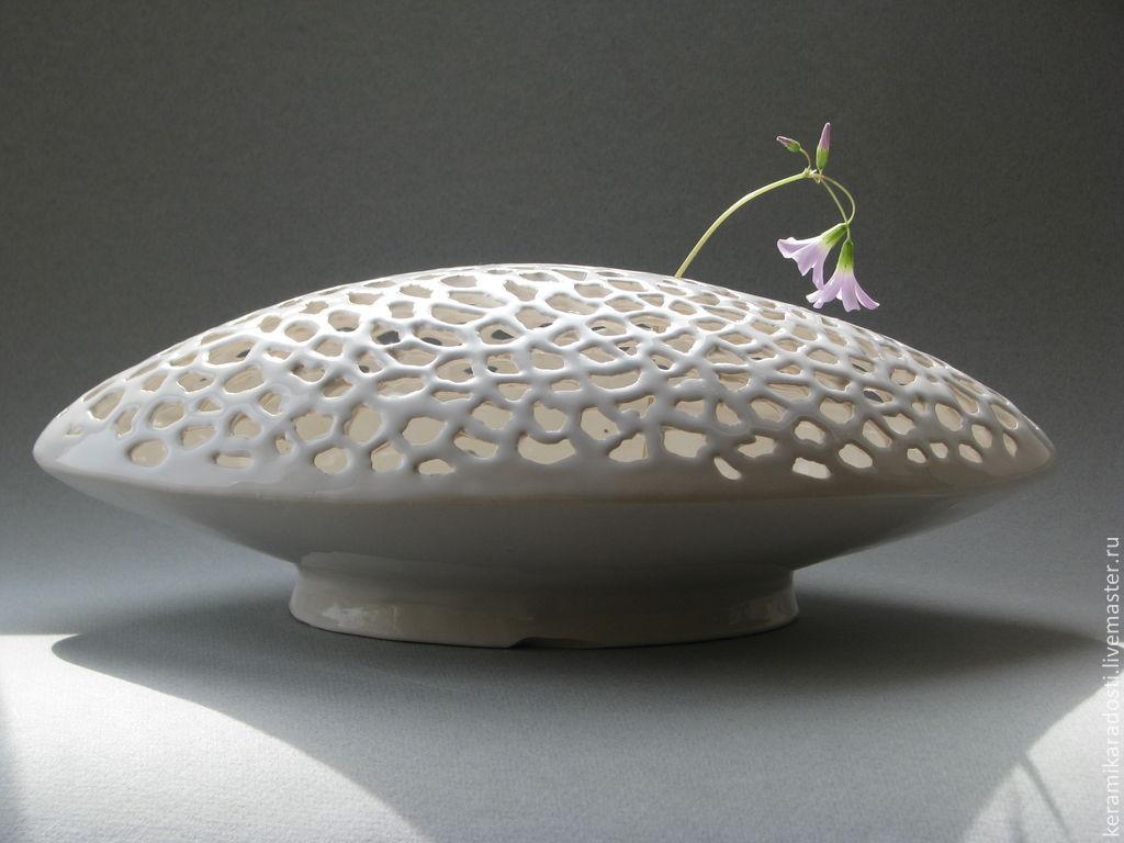 "ваза ""Ажурный овал"""