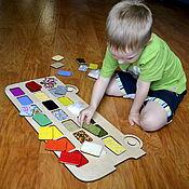 Куклы и игрушки handmade. Livemaster - original item Tactile plates 21 pieces