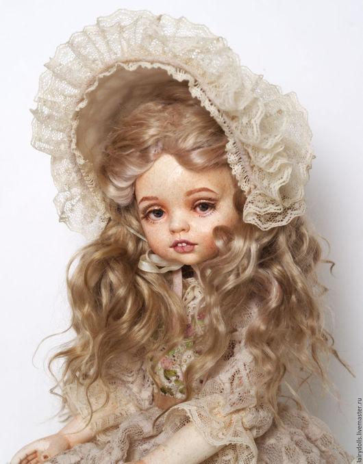 """Коллекционные куклы ручной работы. Ярмарка Мастеров - ручная работа. Купить Игровая кукла """"Оленька"""". Handmade. Бежевый, одежда для кукол"""