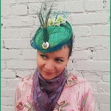 Аксессуары ручной работы. Ярмарка Мастеров - ручная работа Праздничные шляпки - разных цветов и декора. Handmade.
