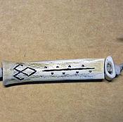 Фен-шуй и эзотерика ручной работы. Ярмарка Мастеров - ручная работа Магия материи - кость волка, игла с футляром. Handmade.