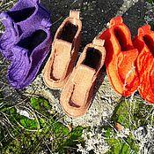 Обувь ручной работы. Ярмарка Мастеров - ручная работа Валеши домашние. Handmade.