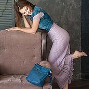 """Одежда ручной работы. Ярмарка Мастеров - ручная работа Шёлковое платье """"Аметист"""". Handmade."""