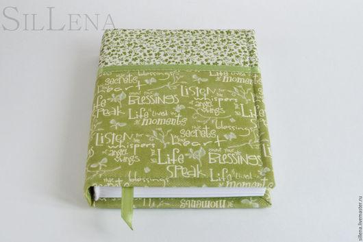 Блокноты ручной работы. Ярмарка Мастеров - ручная работа. Купить Зеленый А6. Handmade. Блокнот ручной работы, блокнот с нуля