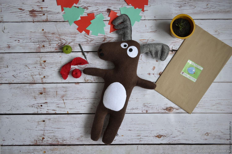 Toy Moose, Stuffed Toys, Novosibirsk,  Фото №1