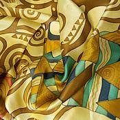 Аксессуары ручной работы. Ярмарка Мастеров - ручная работа Шарф Древо жизни Г.Климт. Handmade.