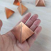 Фен-шуй и эзотерика handmade. Livemaster - original item Copper Vastu Pyramids. Handmade.
