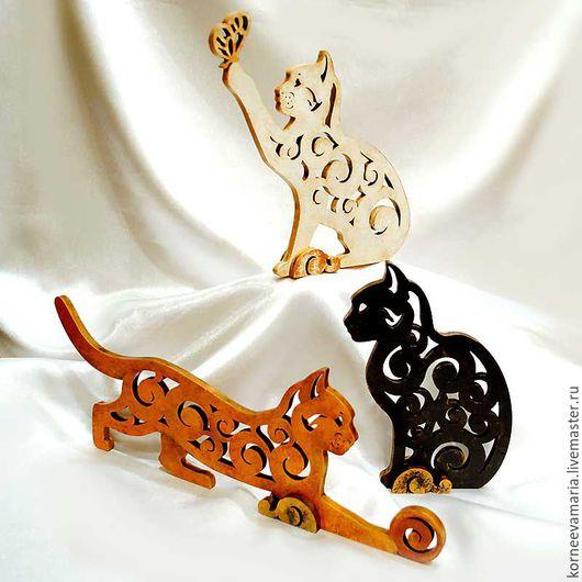 Статуэтки ручной работы. Ярмарка Мастеров - ручная работа. Купить Коллекция «Котята». Handmade. Комбинированный, котя, статуэтки