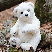 Куклы и игрушки ручной работы. Ярмарка Мастеров - ручная работа Мишка Лео авторская игрушка тедди. Handmade.