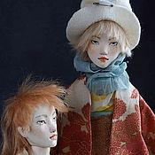 Куклы и игрушки ручной работы. Ярмарка Мастеров - ручная работа шарнирные куклы Лима и Крис. Handmade.