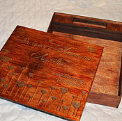 Сувениры и подарки handmade. Livemaster - original item Gift box for photo album and flash. Handmade.