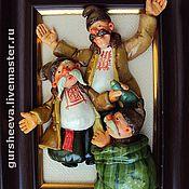 """Картины и панно ручной работы. Ярмарка Мастеров - ручная работа """"Коляда"""". Handmade."""