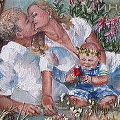 Картины и панно ручной работы. Ярмарка Мастеров - ручная работа Картина семейный портрет. Handmade.