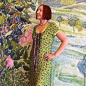 """Одежда ручной работы. Ярмарка Мастеров - ручная работа Платье """"Волшебный сад"""". Handmade."""