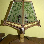 Для дома и интерьера ручной работы. Ярмарка Мастеров - ручная работа Прикроватная лампа. Handmade.