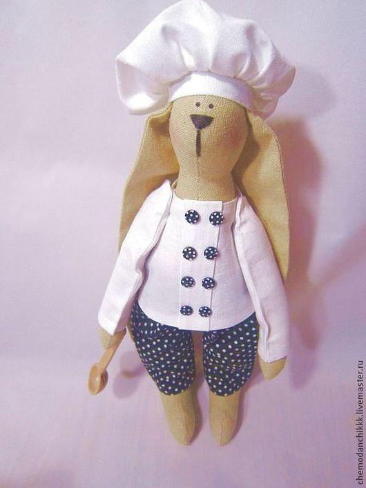 Куклы Тильды ручной работы. Ярмарка Мастеров - ручная работа. Купить Поварёнок. Handmade. Белый, прекрасный подарок, интерьер