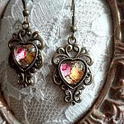 Украшения handmade. Livemaster - original item Earrings Vintage Roses. Handmade.